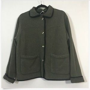The North Face Sweater Gray Button Front Cardigan